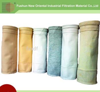 100percent Aramid dust filter bag/Aramid filter bag with PTFE membrane