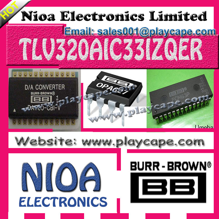 BURR-BROWN IC - TLV320AIC33IZQER - IN STOCK