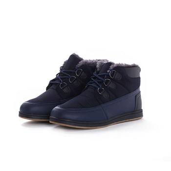 2015 fashion nylon fabric+ PU snow boots