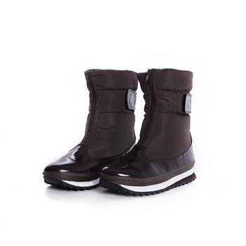 2015 Hot sales fashion nylon taffeta snow boots