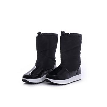 2015 Hot sales ladies nylon taffeta snow boots