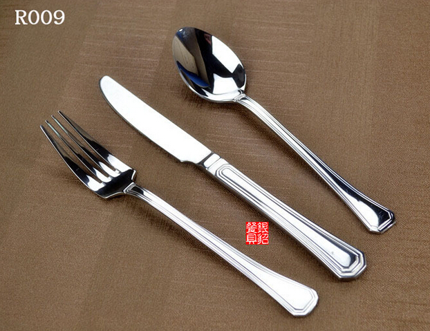 New Design Stainless Steel Cutlery Set in Mirror, Sand or Gold Polish