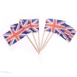 Wholesale paper mini cheap toothpick flag
