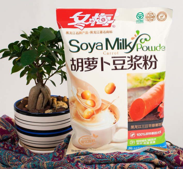 Carrot flavour soy milk powder 750g soy milk powder