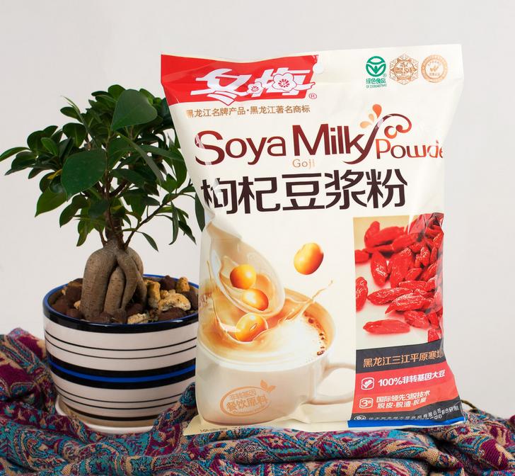 Goji flavour soy milk powder 750g soy milk powder