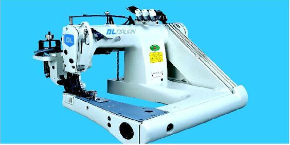 MODEL GK43305 HEAVY DUTY DOUBLE CHAINSTITCH FEED-OFF-ARM SEWING MACHINE(WITH CLOTH PULLER)