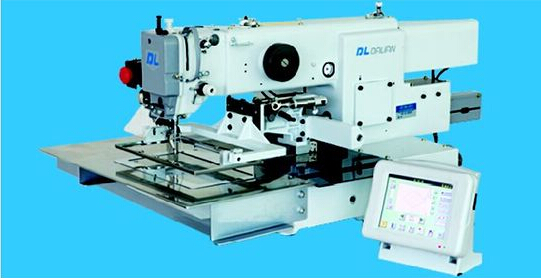 GD22330 SERIES COMPUTER-CONTROLLED HIGH SPEED BAR TACKING INDUSTRIAL SEWING MACHINE WITH INPUT FUNCTION