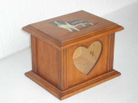 small pine urns for pet