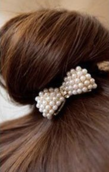 New Style New Design Fashion Lovely Bowknot Hair Band Hair Clip Hair Jewelry