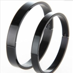 High quality wholesale adjustable bangle unisex clasp men energy Titanium bangle