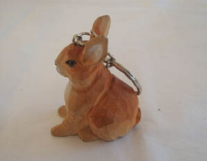 High Quality Wooden Keyring