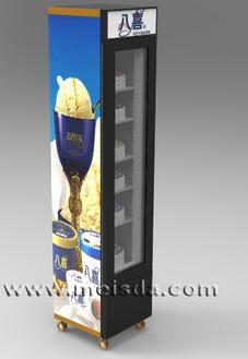 Ice Cream Display Refrigerator, Ice Cream Display Fridge