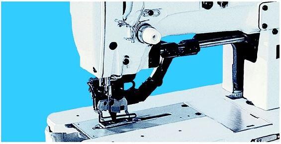 GF11018 SERIES HIGH SPEED LOCKSTITCH STRAIGHT BUTTONHOLING INDUSTRIAL SEWING MACHINE
