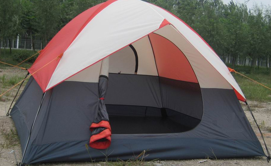 simple camping tent