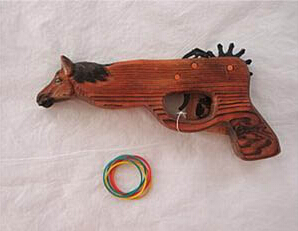 High Quality Wooden Toy Gun
