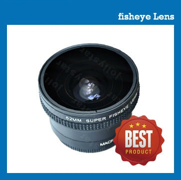 fisheye lens G2 52mm 0.25X + 12.5x Macro lens for camcorder / camera