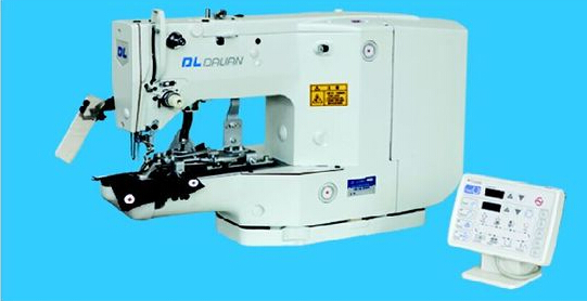 GE3208D SERIES HIGH SPEED COMPUTER CONTROLLED BUTTON ATTACHING SEWING MACHINE