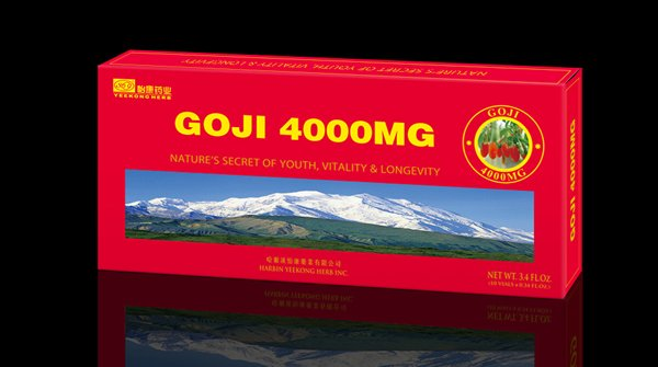 Goji extract oral liquid -- U.S.FDA approval
