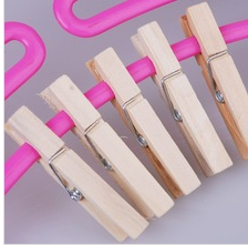 wooden clothespin
