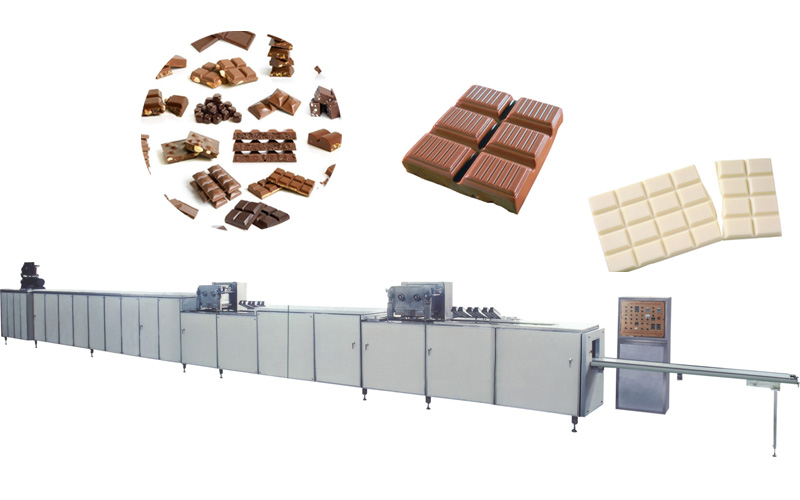 Chocolate Pouring Production Line