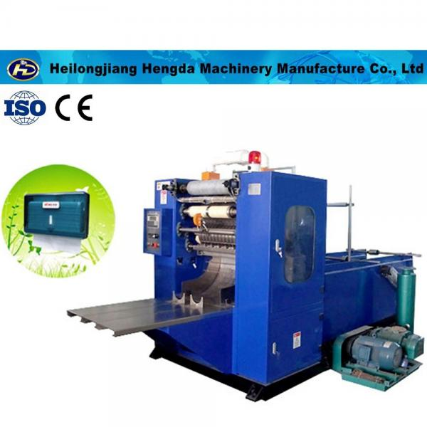 Hand paper towel making machine (v fold) CSZ-230-2V
