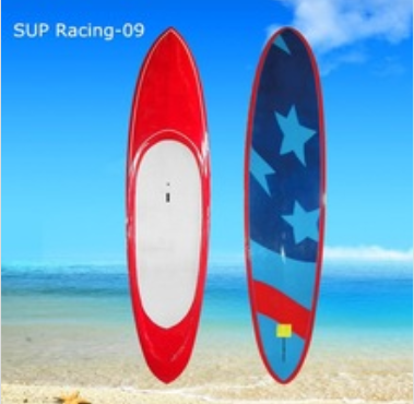 customized color painting SUP racing board wholesale board factory