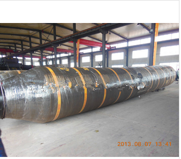 Self Floating Flange Dredging Rubber Hose