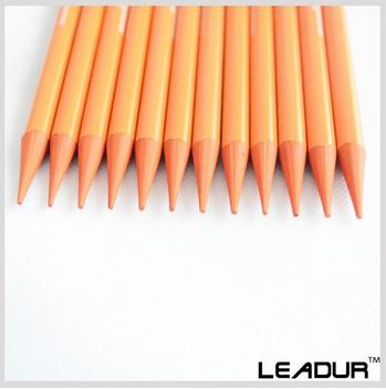 Orange color pencil customized
