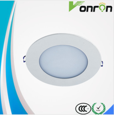 recessed circular ultrathin 200mm led panel light 6500K