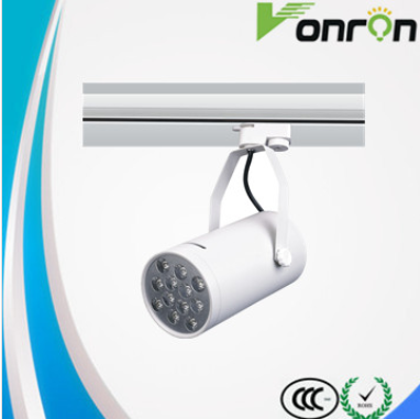 LED track light 12w led track spotlighting with ac85-265v