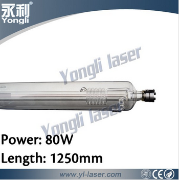 Yongli CE FCC 10000hrs lifespan 9months warranty 150watt tube laser co2