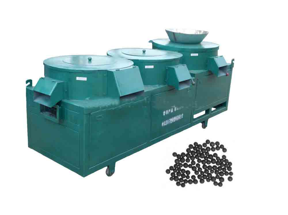 1-2 ton per hour organic fertilizer granulation machine