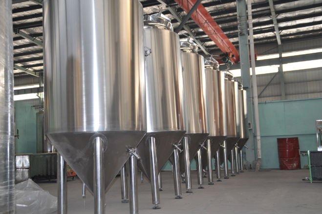 3.5bbl conical fermenter