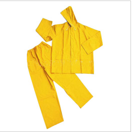 Waterproof PVC polyester rain coat