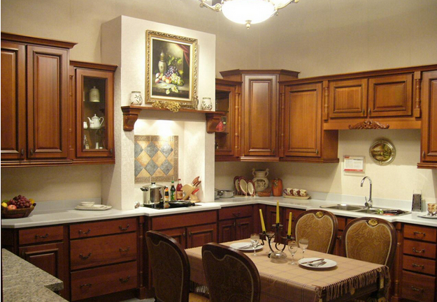 Unique design lacquer kitchen cabinet