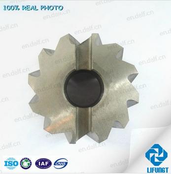 Custom made HSS spiral flute Shell milling cutter
