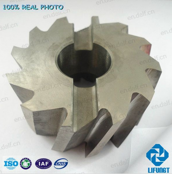 Custom made HSS spiral flute Shell milling cutter