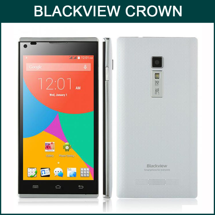 2015 New Mobile Phone Hot Cell Phone Android 4.4.2 3G Smartphone BLACKVIEW CROWN