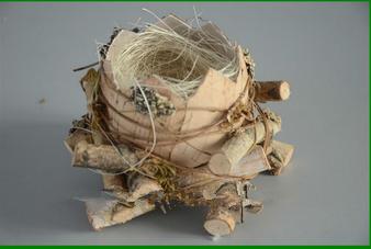 2014 new design Natural material decorative Bird Nest