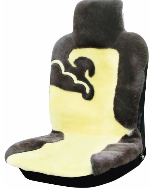 100% Australia Sheared Sheepskin Car Seat Cover