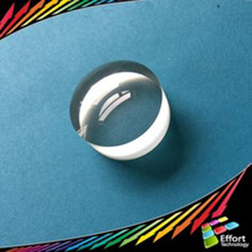 Optical Sapphire Lens from diameter 10 to 200mm