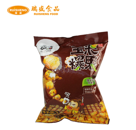 Roasting Steak Flavor Crisp Coffee Corn 25g Halal Snack Corn