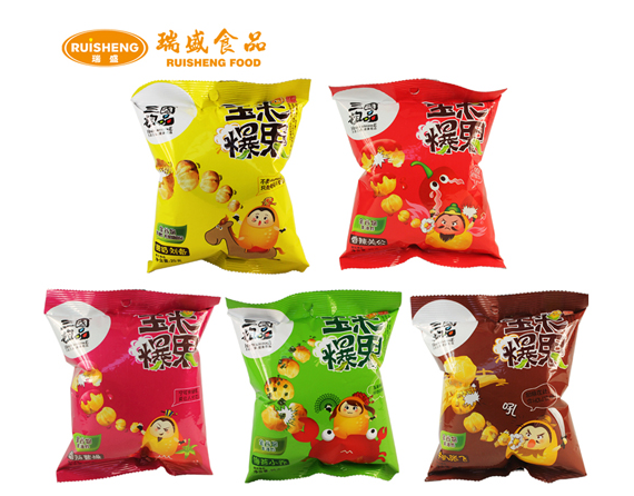 Weight Loss Grain Food 25g Coffee Corn Spicy Seaweed Snack