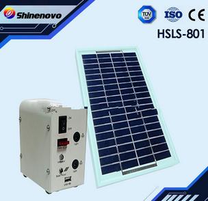 5W Household solar light system ( with 2 pcs LED light )