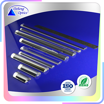 plano convex glass optical cylindrical lens