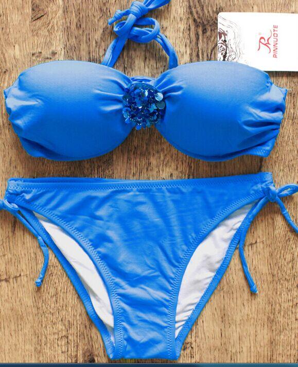 Hot sexy colorful bikini