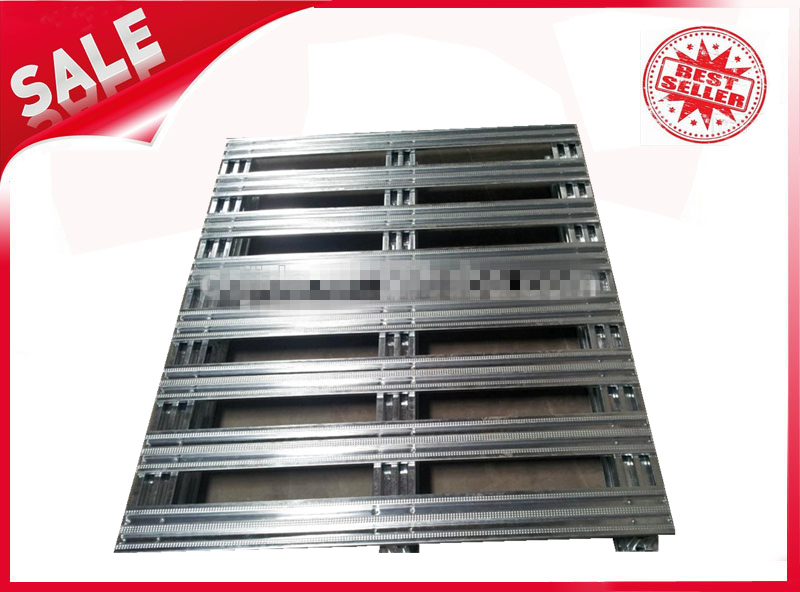 Galvanized steel pallet