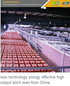 new technology energy effective high output brick oven from China