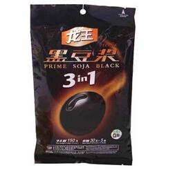 Organic instant black soymilk powder sweet food