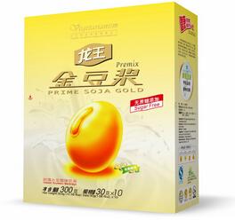 Organic Instant Soy Milk Powder Retail Package Sweet